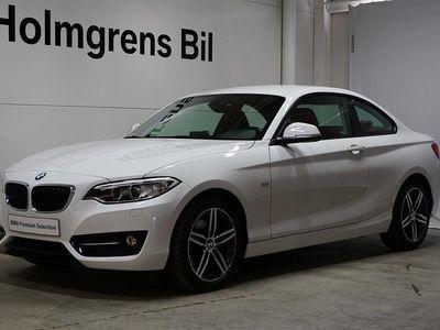 begagnad BMW 220 d xDrive Coupé Aut Sport Line HiFi