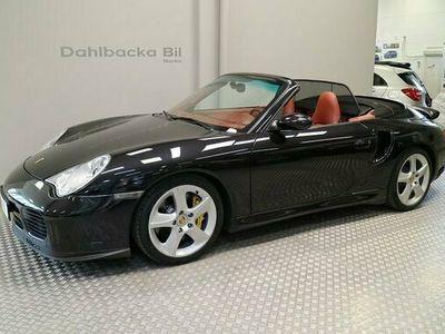 begagnad Porsche 911 Turbo S Cabriolet 996 2005, Personbil Pris 675 000 kr