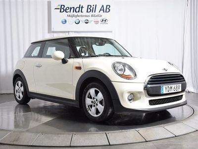 begagnad Mini ONE 3-door Pepper Euro 6 102hk