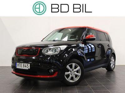 begagnad Kia Soul EV 27 kWh Single Speed NAVI SKINN VÄLSKÖTT