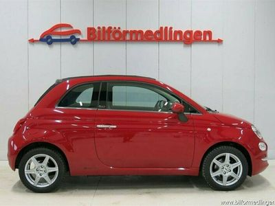 begagnad Fiat 500 69hk Lounge Panorama *SUBWOOFER*Stora skärmen*