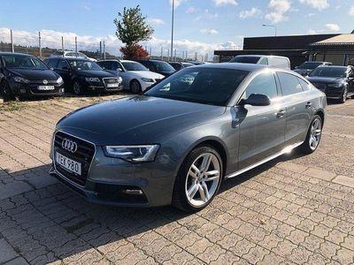 begagnad Audi A5 2.0TDI 190 AUT S-LINE LÄDER NAVI EU6 2-ÅRS GARANTI