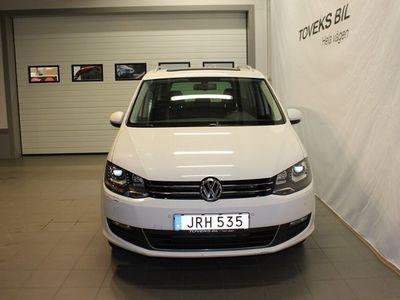 begagnad VW Sharan TDI 140 DSG MASTERS