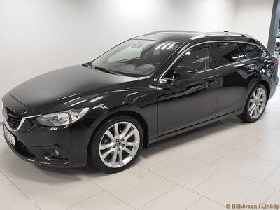 begagnad Mazda 6 Wagon 2.2 Optimum Aut 175hk