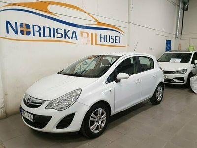 begagnad Opel Corsa 5-dörrar 1.2 ecoFLEX Ny Besiktigad AC 2012, Halvkombi Pris 47 900 kr
