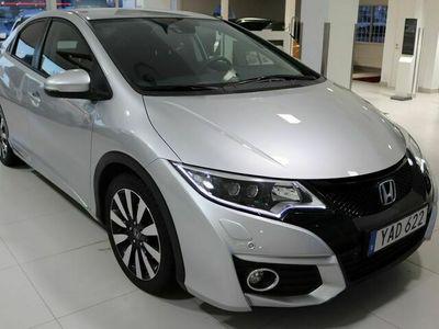 begagnad Honda Civic 1.6 i-DTEC Euro 6 120hk M-värmare