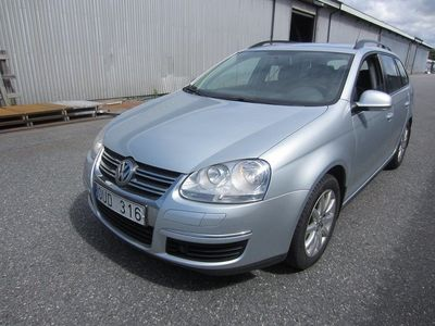 begagnad VW Golf 1.6 TREND VARIANT 2008