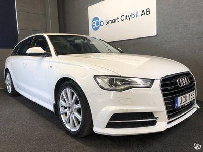 begagnad Audi A6 2.0 TDI quattro S-Line 190hk 1.95% 12 Mån GARANTI