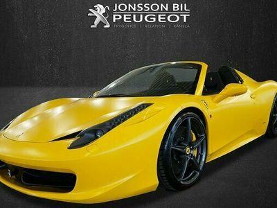 begagnad Ferrari 458 Spider 4.5 V8 DCT Kolfiber 570hk