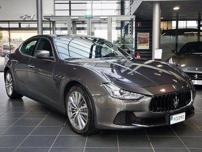 begagnad Maserati Ghibli DIESEL 275hk 1220mil Sv-såld