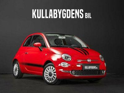 begagnad Fiat 500C 1.2 Lounge  Uconnect  Apple carplay  3 Års garanti