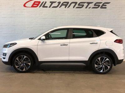 begagnad Hyundai Tucson PREMIUM 1.6 T-GDI 4WD DCT Euro