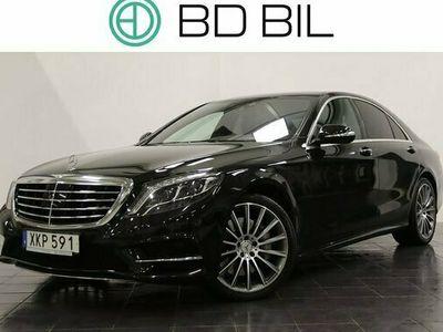 begagnad Mercedes S350 S Benz4M AMG PANORAMA BURMESTER SV-SÅLD NAVI 2015, Sedan Pris 529 800 kr