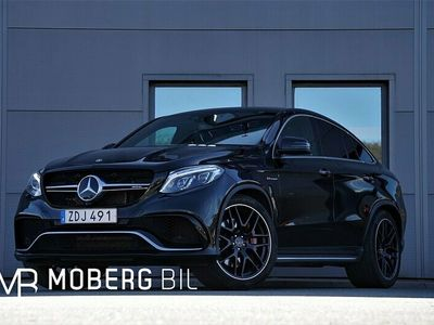 begagnad Mercedes GLE63 AMG AMGS 4M Coupé 585hk Drivers Pkt. H/K