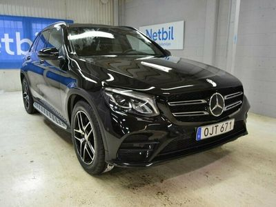 begagnad Mercedes GLC220 d 4M 220d 4MATIC AMG Sport Night Drag / Värmare