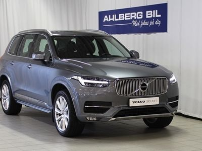 "begagnad Volvo XC90 D5 AWD Inscription TB 20"" 7-säten, Garanti 24 månader, On Call, Head Up Display, Navigation, Parkeringskamera bak, Dragkrok halvautomat"