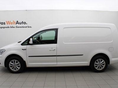begagnad VW Caddy Maxi Skåp TDI 102HK DSG/Plus/Komfort/P-värmare