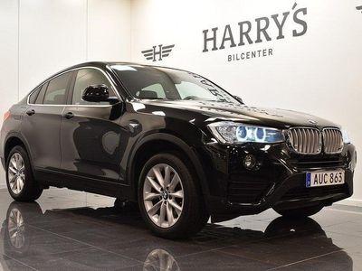 begagnad BMW X4 xDrive30d 258HK Harmon Kardon Navi