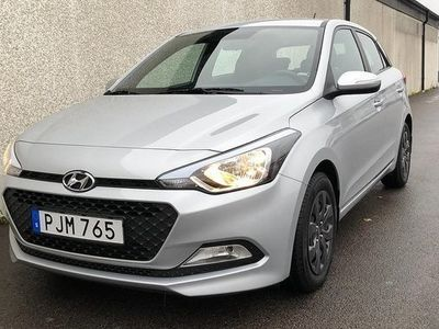 begagnad Hyundai i20 1.2 Move 2018, Halvkombi 94 900 kr