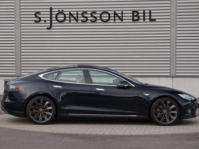 begagnad Tesla Model S P85d / Inkommande /