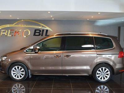 begagnad VW Sharan 2.0 TSI DSG Panorama Drag 7-sits 2013, Personbil 199 900 kr