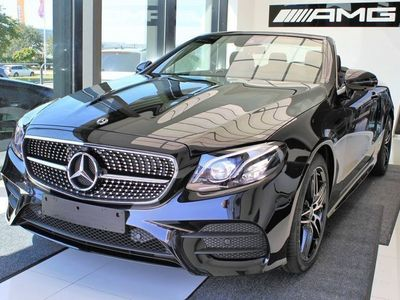 begagnad Mercedes E200 Cabriolet AMG-Line