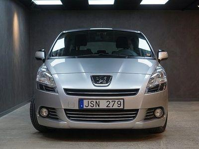 begagnad Peugeot 5008 1.6 HDi FAP EGS 7-sits Drag V-hjul