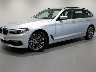 gebraucht BMW 520 d Sport Line Aut Nav Hi-Fi Drag Läder -18