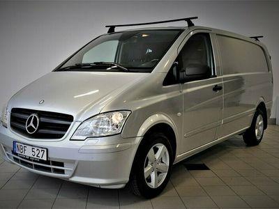begagnad Mercedes Vito 113 CDI 136hk Lång Automat