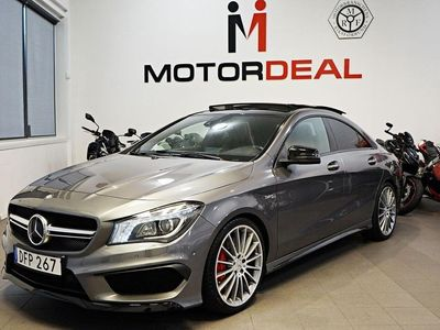 begagnad Mercedes CLA45 AMG 4MATIC Skalstol Panorama