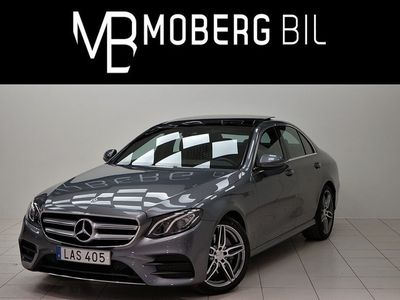 begagnad Mercedes E200 200d 184hk AMG Panorama 237MIL