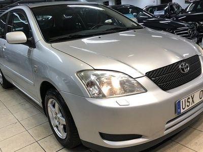 begagnad Toyota Corolla 1,4 VVT-i*Nybesk*lågmil*
