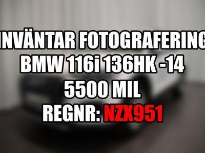 begagnad BMW 116 i 136hk