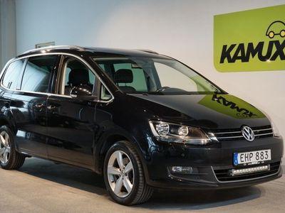 begagnad VW Sharan 2.0 BlueTDI DSG Navi pano D-värm Drag 140hk