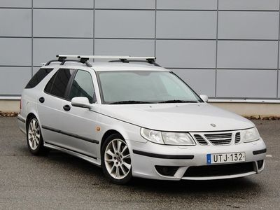 begagnad Saab 9-5 AERO 2.3 Turbo 250HK Besiktigad Servad Dragkrok