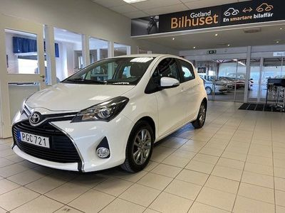 begagnad Toyota Yaris 1.33 Dual VVT-i Multidrive S Euro 6