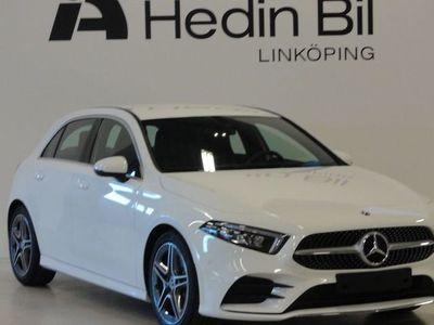 begagnad Mercedes A180 AMG Navigation Backkamera Parkeringssensorer Större Mediesisplay Demo