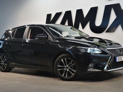 begagnad Lexus CT200h 1.8 CVT Hybrid Comfort M&K-Värm Backkamera 136hk