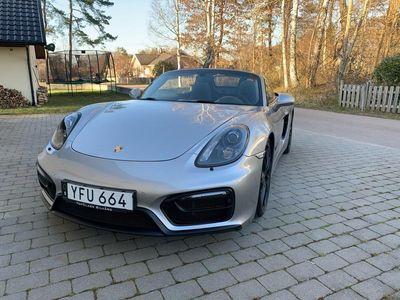 begagnad Porsche Boxster GTS 981 3,4 PDK HÖSTPRIS