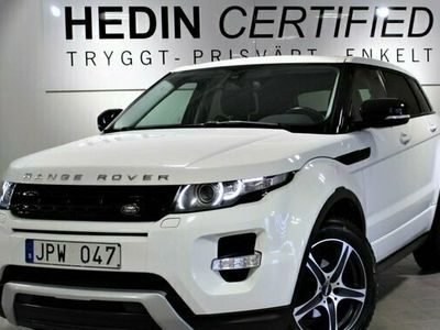 begagnad Land Rover Range Rover evoque SD4 Dynamic 4WD Aut Park 2013, SUV Pris 234 500 kr