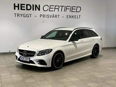 begagnad Mercedes C200 KOMBI // AMG NIGHT//KEYLESS GO//