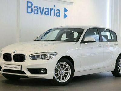 begagnad BMW 118 d xDrive 5-door Advantage Eluppvärmd ratt HiFi