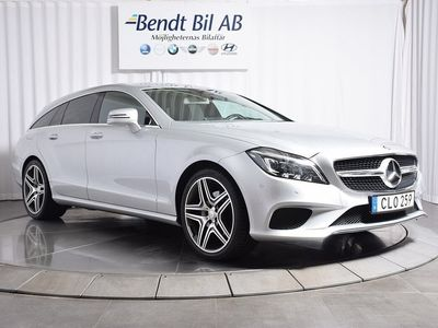 begagnad Mercedes CLS250 Shooting Brake BlueTEC 4MATIC 9G-Tronic Euro 6 204hk