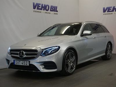 brugt Mercedes E220 4MATIC AMG Aut Värmare Drag Navi Panorama