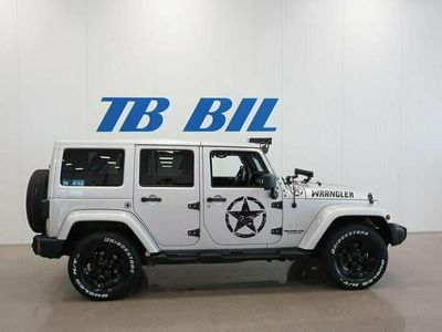 begagnad Jeep Wrangler Unlimited 2.8 4WD Aut Hardtop & softtop