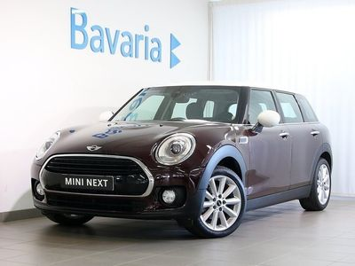 begagnad Mini Cooper D Clubman Chili Connected Komfortöppning Harman Kardon