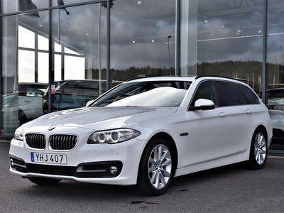 begagnad BMW 520 d xDrive Kombi Värmare Drag Panorama