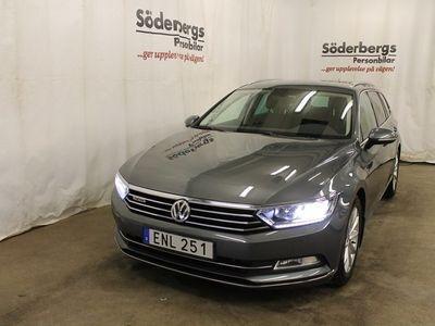begagnad VW Passat SportsCombi TDI 190 DSG6 4M VÄRMARE / DRAGPAKET / EN ÄGARE