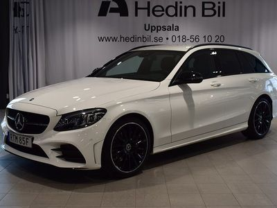 begagnad Mercedes C200 - BenzAMG NightEdition / / Premiumpkt