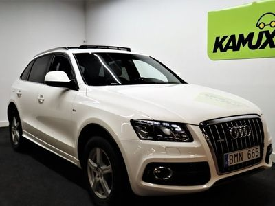begagnad Audi Q5 3.0 TDI V6 | Navi | Pano | Drag | SE UTR |